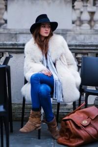 como usar casaco no inverno principalmente casaco de pele