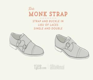 Sapato Monk Strap