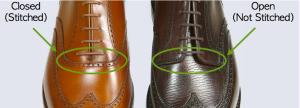Diferenças entre o sapato Oxford e o Derby