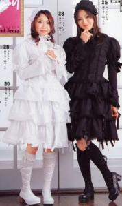 kuro-lolita-y-shiro-lolita