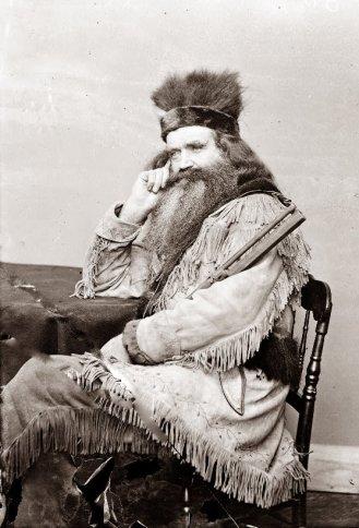 Homem da montanha em 1864.