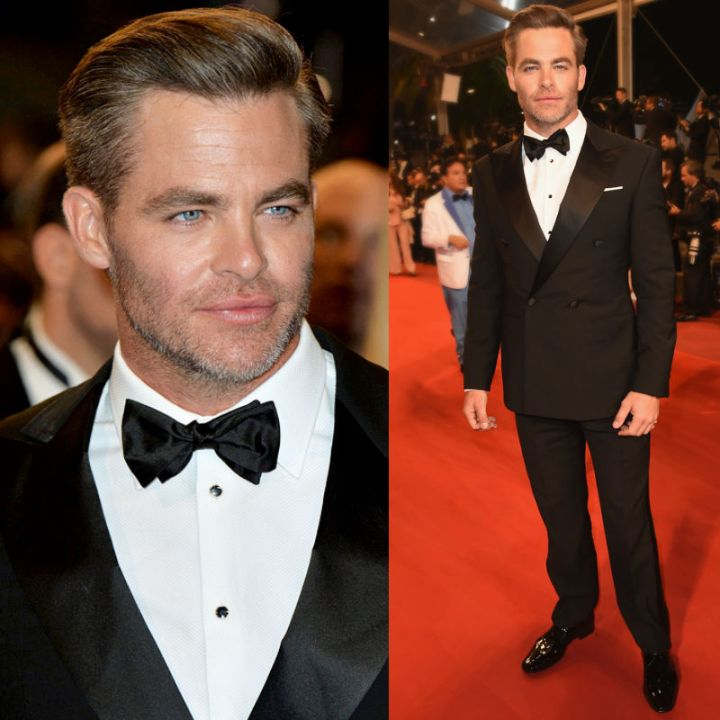 Chris Pine, Cannes 2016, Red Carpet