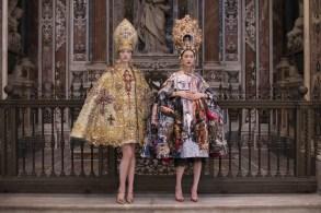 Dolce & Gabbana Alta Moda Naples 2016 mis papelicos.-3