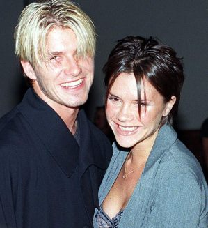Por volta de 1998, durante o namoro com David Beckham que mais parecia o Nick do Back Street Boys kkkkkkkk
