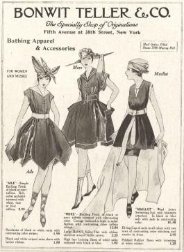 Vestido de Banho, 1916