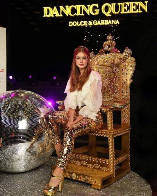 Marina Ruy Barbosa em foto oficial para D&G