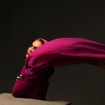 Gigi Hadid, editorial para a revista Vogue Arabia.