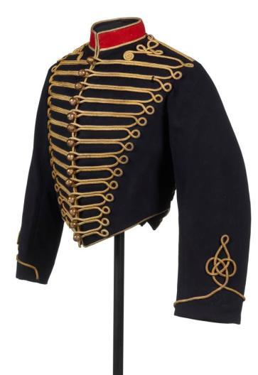 Jaqueta militar da era de Napoleao