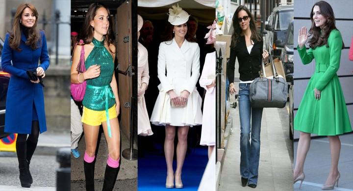 A evolução de Kate Middleton