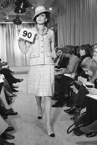 Desfile Chanel 1960