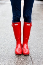 red-glossy-hunter-boots-chicago-blogger-31