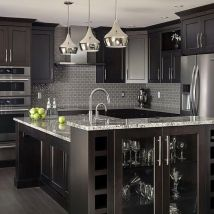 46be14a5146e9ea0cd6a7c3f26d9f73c--black-kitchens-modern-kitchens