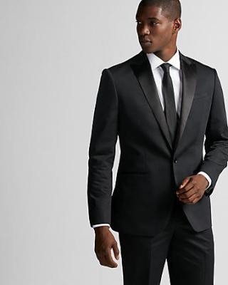 Tuxedo com bolso embutido ou modelo Jet ou Besom.